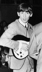 George Harrison with his Model 425