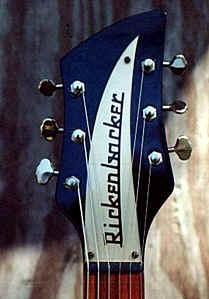 Model 325 '58 reproduction headstock