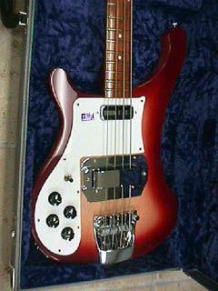 Guitarras y bajos Rickenbacker